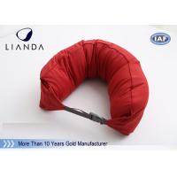 Custom U Shaped Memory Foam Pillows For Travel / Airplane , TUV BS5852 Certification Manufactures