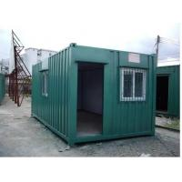 Multi Color Movable Shipping Container Homes Easily Removable High Safety Manufactures