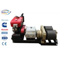 China Underground Cable Laying Equipment 18kw Cableway Puller For Stringing Equipment on sale