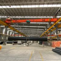 China Electric Traveling Single Girder Overhead Cranes Capacity 7.5m Span 20m Lifting Height 6m on sale