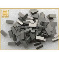 Low Alloy Steel Tungsten Carbide Saw Tips W2 Grade 1800 N / Mm2 TRS Manufactures