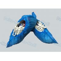 Personal Care Breathable Disposable Surgical Shoe Covers CPE / PE Material Manufactures
