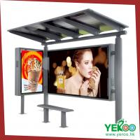 modern stainless steel used hot sale new design bus shelter Manufactures