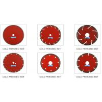 Cold pressed cutting disc, size from 105mm-350mm for different stone cutting Manufactures
