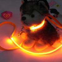 Soft Silknet Green LED Glow Pet Collars Manufactures