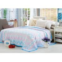 Comfortable Polyester Solid Flannel Blanket 3D Printed Super Soft For Bed 220*240 Manufactures