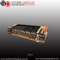 battery counter display unit on the store table Manufactures