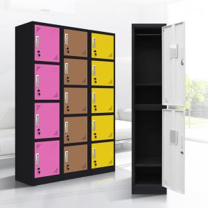 China 5 Tier  0.9mm Steel 450mm depth Middle School Lockers on sale