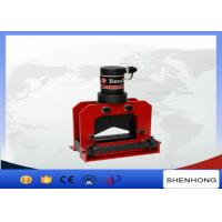 China ISO Overhead Line Construction Tools 150x10 mm Copper Busbar Cutting Machine on sale