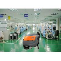 Two 13 Inch Brush Dynamo Battery Operated Floor Scrubber , Electric Walk Behind Floor Cleaners Manufactures