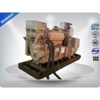 China CCS Three Phase Marine Diesel Genset Turbocharged With DCEC Cummins Engine on sale