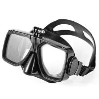 Adult Silicone Diving Snorkel Mask With Gopro Mount Colorful Frame Manufactures