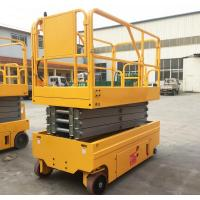 Upright Movable Hydraulic Lifting Platform Compact Manual Battery Powered Manufactures