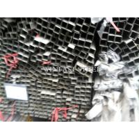 Rentangular 2 Inch Stainless Steel Pipe Welded Tubes Mirror Finished Manufactures