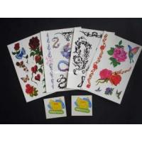 Colorful Body Tattoo Sticker (HTST002) Manufactures