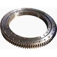 Single Row Four Point Contact Ball Slewing Ring Bearings Without Gear For Axial Load Manufactures
