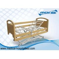 China Ultra low Home Care Beds With Melamined Wood Side Rails Remote Controller on sale