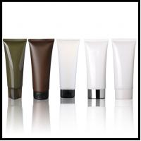 Refillable Plastic Cosmetic Container Facial Cleanser Hand / Eye Cream Soft Tubes Bottle Manufactures