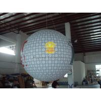 Dia 2.5m Inflatable Advertising Helium Golf Ball with 0.18mm PVC, Sport Balloons Manufactures