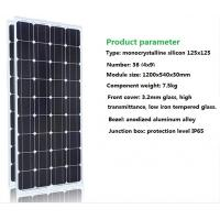 LEDs Solar Power 100W watts single crystal solar panels photovoltaic power generation system 12V home Manufactures