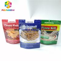 China Zip Lock Seed Bag Plastic Pouches Packaging Moisture Proof PET Mylar Pouch on sale