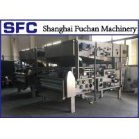 SUS 304 Belt Filter Press Dewatering Equipment With Continuous Auto Running Manufactures