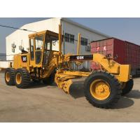 """Yellow Used Motor Graders 120H With 12"""" Mouldboard Operate Weight 21000kg Manufactures"""