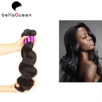 Natural Color Pure Peruvian Body Wave Hair Bundles For Beauty Works Manufactures