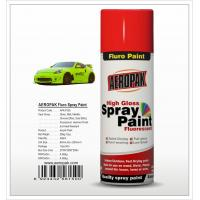Aeropak  aerosol can 400ml 10oz Fluorescent spray paint with all colors acrylic Manufactures