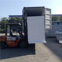 China 10kg 50mm polystyrene foam thermal insulation eps sandwich wall panel on sale