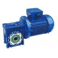 RV Aluminum Alloy Worm Gear Reducer With Small Gear Motor And Extension Shaft Manufactures