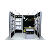 Black Modular Booth Systems , Truss Tradeshow Booth Displays For Exhibition Manufactures