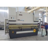 500 Ton Press Brake Equipment , Hydraulic Bending Press With Start & Stop System Manufactures