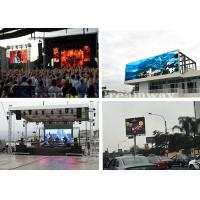 China Customized Ultra Bright Outdoor Advertising LED Display P6 7000cd/sqm Brightness on sale