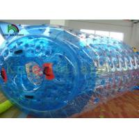 Blue or Colorful 1.0mm PVC / TPU Inflatable Water Toy / Aqua Rolling ball for kids Manufactures