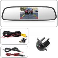 China Night Vision Car Backup Camera Mirror 5'' Display Size Color CCD 7070 Image Device on sale