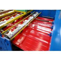 Trapezoid Roofing Sheet Roll Forming Machine 12 month warranty