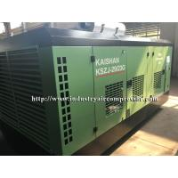 Quality Diesel Driven Screw Air Compressor Easy Serviceability For Water Well Drilling Rig for sale