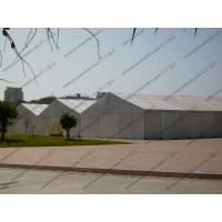 Large Temporary Warehouse Tent 20m 30m Width Waterproof For Outside Industrial Storage Manufactures