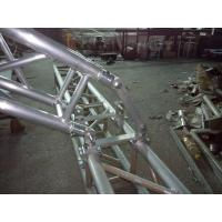 Quality Black 300*300*12m Length Arch Spigot Connection Aluminum Stage Truss Strong Loading Capacity for sale
