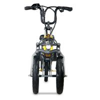 China Convenient Electric Tricycle Bike High End 14 Inch Folding Hydraulic Disc Brakes for sale