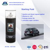 Low Temperature Engine Starter Fluid / Quick Starting Fluid Spray Car Care Products Manufactures