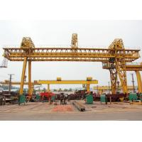 Truss Double Girder Gantry Crane Industrial A Frame Rubber Tired Electric Motors Driving Manufactures