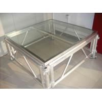 Mobile Acrylic Stage Platform / Transparent Square Stage Platform Manufactures
