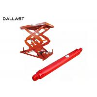 Ultra Thin Scissor Lift Standard Compact Hydraulic Hoist Cylinder with CE ISO9001 Manufactures