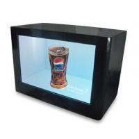 Digital Signage LCD Video Wall Advertising Transparent Touch Screen Monitor Showcase Box Manufactures