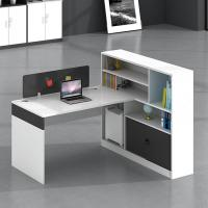 Ergonomic design wood veneer office furniture melamine particle board office desk Manufactures
