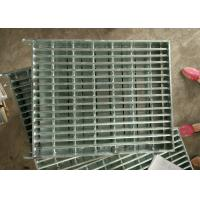 Industrial Galvanized Steel Walkway Grating Hot Galvanized Strong Impact Resistance Manufactures