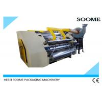 China Electrical Adjustment Single Facer Corrugated Machine Flute Forming Machine on sale