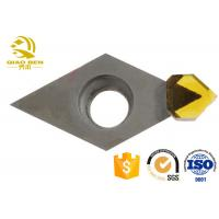 PCD/MCD Monocrystal Diamond Cutting Tools High Speed Steel Support For Custom Manufactures